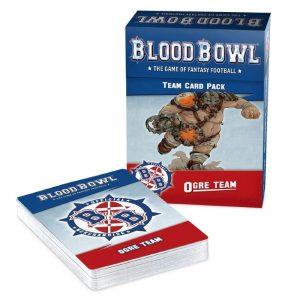 Games Workshop (Direct) Blood Bowl  Blood Bowl Blood Bowl: Ogre Team Card Pack - 60050913001 - 5011921165520
