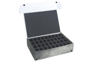 Safe and Sound   Safe and Sound Cases XL Box for 72 miniatures on 32mm bases - SAFE-XL-2X36M - 5907222526873