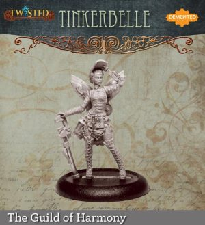 Demented Games Twisted: A Steampunk Skirmish Game  Guild of Harmony Tinker Belle (Metal) - RGM002 -