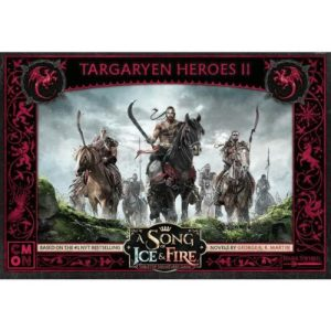 Cool Mini or Not A Song of Ice and Fire  House Targaryen A Song of Ice and Fire: Targaryen Heroes #2 - CMNSIF610 - 889696011282