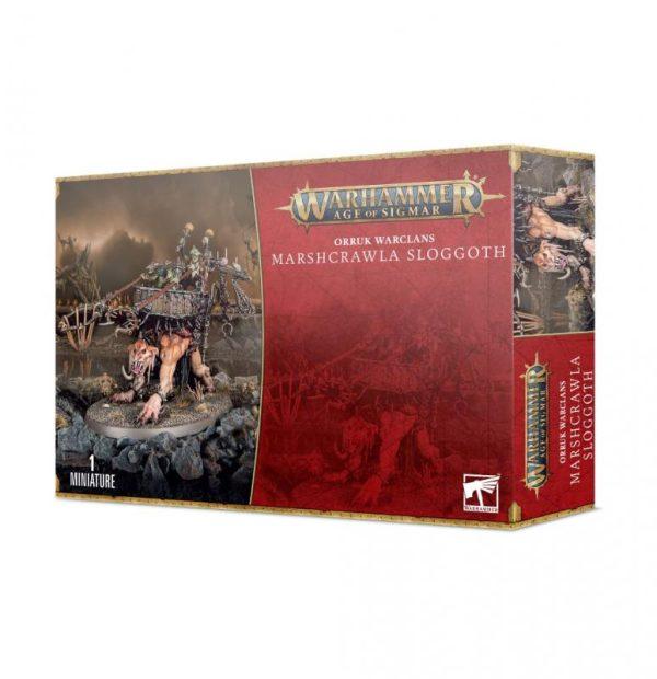 Games Workshop Age of Sigmar  Orruk Warclans Orruk Warclans Marshcrawla Sloggoth - 99120209076 - 5011921155729