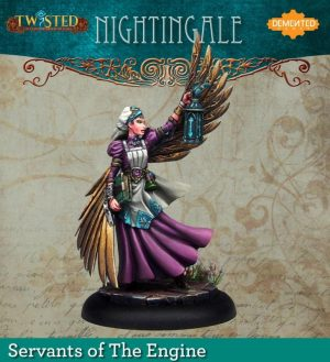 Demented Games Twisted: A Steampunk Skirmish Game  Servants of the Engine Nightingale (Metal) - RSM003 -