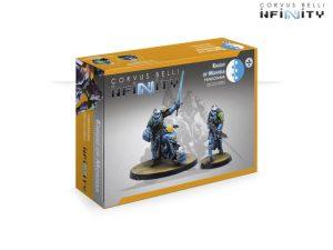 Corvus Belli Infinity  PanOceania Knight of Montesa (Red Fury) - 281223-0895 - 2812230008958