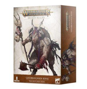 Games Workshop Age of Sigmar  Beasts of Chaos Broken Realms: Ghorraghan Khai The Butcher-herd - 99120216016 - 5011921145461