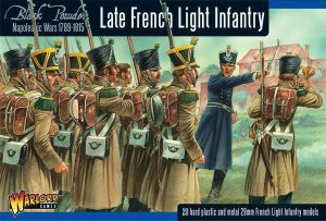 Warlord Games Black Powder  French (Napoleonic) Napoleonic War Late French Light Infantry - 302012001 - 5060393705109