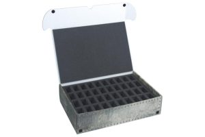 Safe and Sound   Safe and Sound Cases XL Box for 80 miniatures on 25mm bases - SAFE-XL-2X40M - 5907222526934