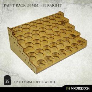 Kromlech   Paint Racks Paint Rack (33mm) - straight - KRMA074 - 5902216119468
