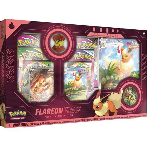 Pokemon Pokemon - Trading Card Game  Pokemon Pokemon TCG: VMAX Premium Collection (Vaporeon / Jolteon / Flareon) - POK82913 -