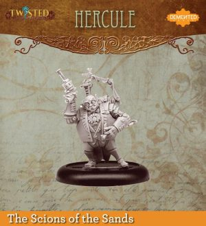 Demented Games Twisted: A Steampunk Skirmish Game  Scions of the Sands Hercule (Metal) - REM003 - REM003