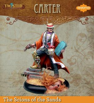 Demented Games Twisted: A Steampunk Skirmish Game  Scions of the Sands Carter (Metal) - REM001 -