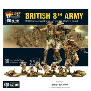 Warlord Games Bolt Action  Great Britain (BA) 8th Army Infantry - 402011015 - 5065725010654