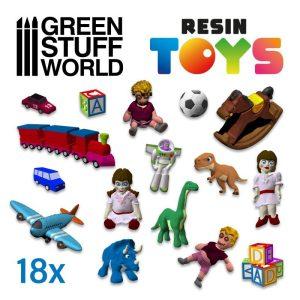 Green Stuff World   Green Stuff World Conversion Parts Children Toys Resin Set - 8435646500522ES -