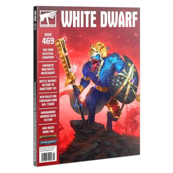 Games Workshop   White Dwarf White Dwarf 469 (October 2021) - 60249999611 - 5011921170630