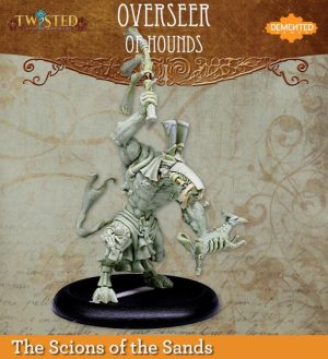 Demented Games Twisted: A Steampunk Skirmish Game  Scions of the Sands Overseer of Hounds (Resin) - RER201 -