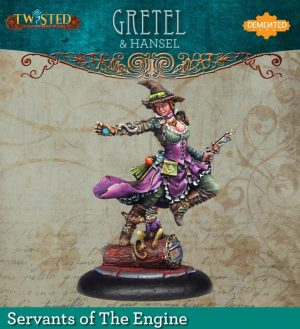 Demented Games Twisted: A Steampunk Skirmish Game  Servants of the Engine Gretel (Resin) - RSR004 -