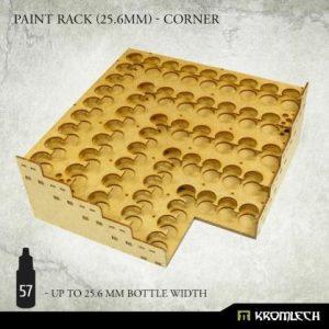 Kromlech   Paint Racks Paint Rack (25.6mm) - corner - KRMA079 - 5902216119512