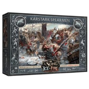 Cool Mini or Not A Song of Ice and Fire  House Stark A Song of Ice and Fire: House Karstark Spearmen - CMNSIF114 - 889696011930