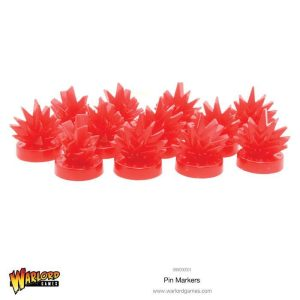 Warlord Games Bolt Action  Bolt Action Books & Accessories Warlord Games Pin Markers - 999000001 - 5060393704393