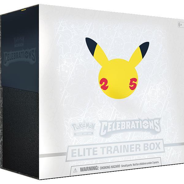Pokemon Pokemon - Trading Card Game  Pokemon Pokemon TCG: Celebrations Elite Trainer Box - POK80943 - 820650809439