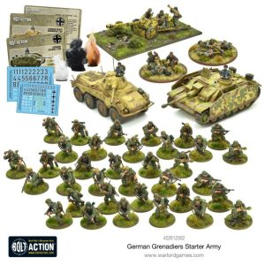 Warlord Games Bolt Action  Germany (BA) German Grenadiers Starter Army - 402610002 - 5060572501386