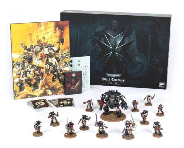 Games Workshop Warhammer 40,000  Black Templars Black Templars Army Box (interest) - 60010101003-interest - 60010101003-interest