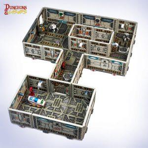 Archon Studio   Archon Studio Terrain Dungeons & Lasers: Sci-Fi Starter Set - DNL0001 - 5901414670474