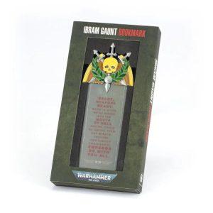 Games Workshop   Astra Militarum Warhammer 40,000: Ibram Gaunt Bookmark - 99700181052 - 5011921169597