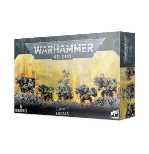 Games Workshop (Direct) Warhammer 40,000  Orks Ork Lootas - 99120103054 - 5011921096152