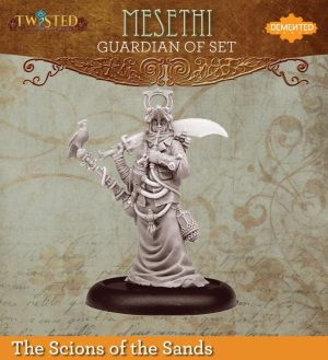 Demented Games Twisted: A Steampunk Skirmish Game  Scions of the Sands Guardian of Set Hookah Mesethi (Metal) - REM105 -