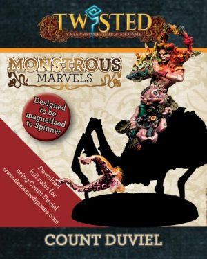 Demented Games Twisted: A Steampunk Skirmish Game  Dickensians Count Duviel (Spinner Add-on only) - RNFM002 - RNFM002