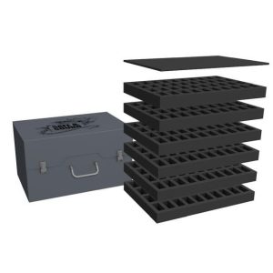 Safe and Sound   Safe and Sound Cases Army Pack for 240 minis on 25mm bases - SAFE-AP-240M - 5907459695588