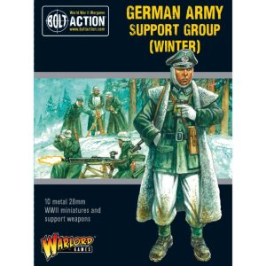 Warlord Games Bolt Action  Germany (BA) German Army (Winter) Support Group - 402212009 - 5060572504868