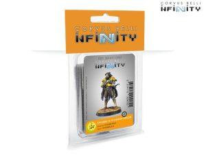 Corvus Belli Infinity  O-12 Saladin, O-12 Liaison Officer (Combi Rifle) - 281411-0905 -