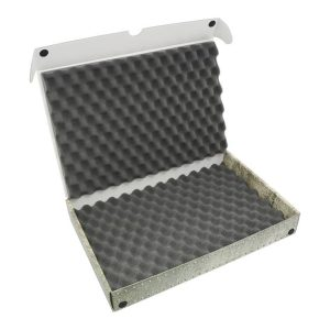 Safe and Sound   Safe and Sound Cases Standard Box with convoluted foam inserts for 20mm or 25mm bases - SAFE-ST-CFT20/25MM - 5907459694536