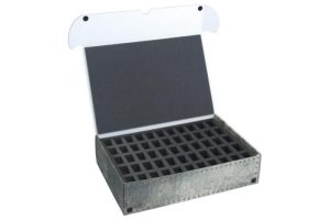 Safe and Sound   Safe and Sound Cases XL Box for 110 small miniatures on 25mm bases - SAFE-XL-2X55M - 5907459694581