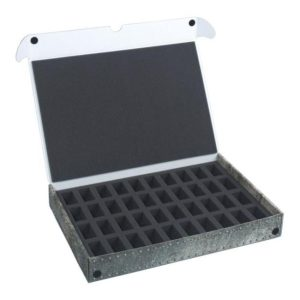 Safe and Sound   Safe and Sound Cases Standard Box for 40 miniatures on 25 mm bases - SAFE-ST-40M - 5907222526002