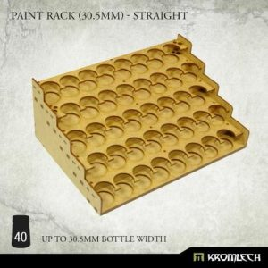 Kromlech   Paint Racks Paint Rack (30.5mm) - straight - KRMA076 - 5902216119482